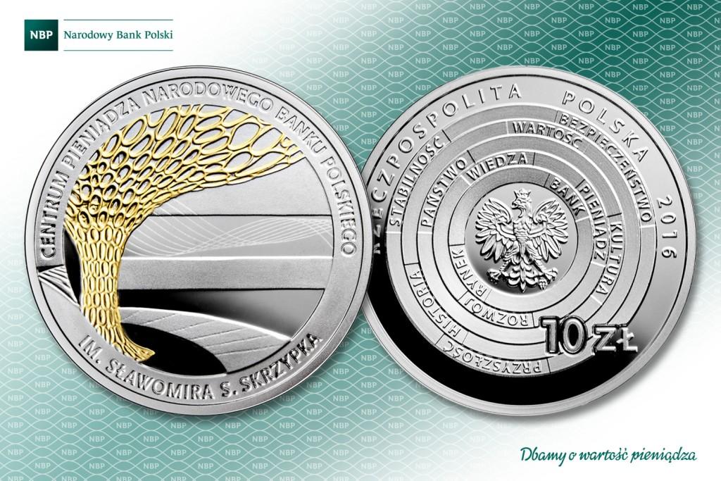 Wyjątkowa moneta na otwarcie Centrum Pieniądza NBP
