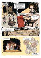"""""""Na tropach złotego"""" - komiks"""