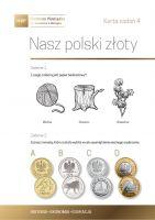 Nasz polski złoty - karta zadań 4a