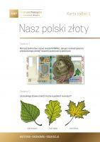 Nasz polski złoty - karta zadań 1a