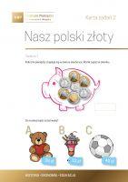 Nasz polski złoty - karta zadań 2a