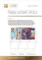 Nasz polski złoty - karta zadań 3a